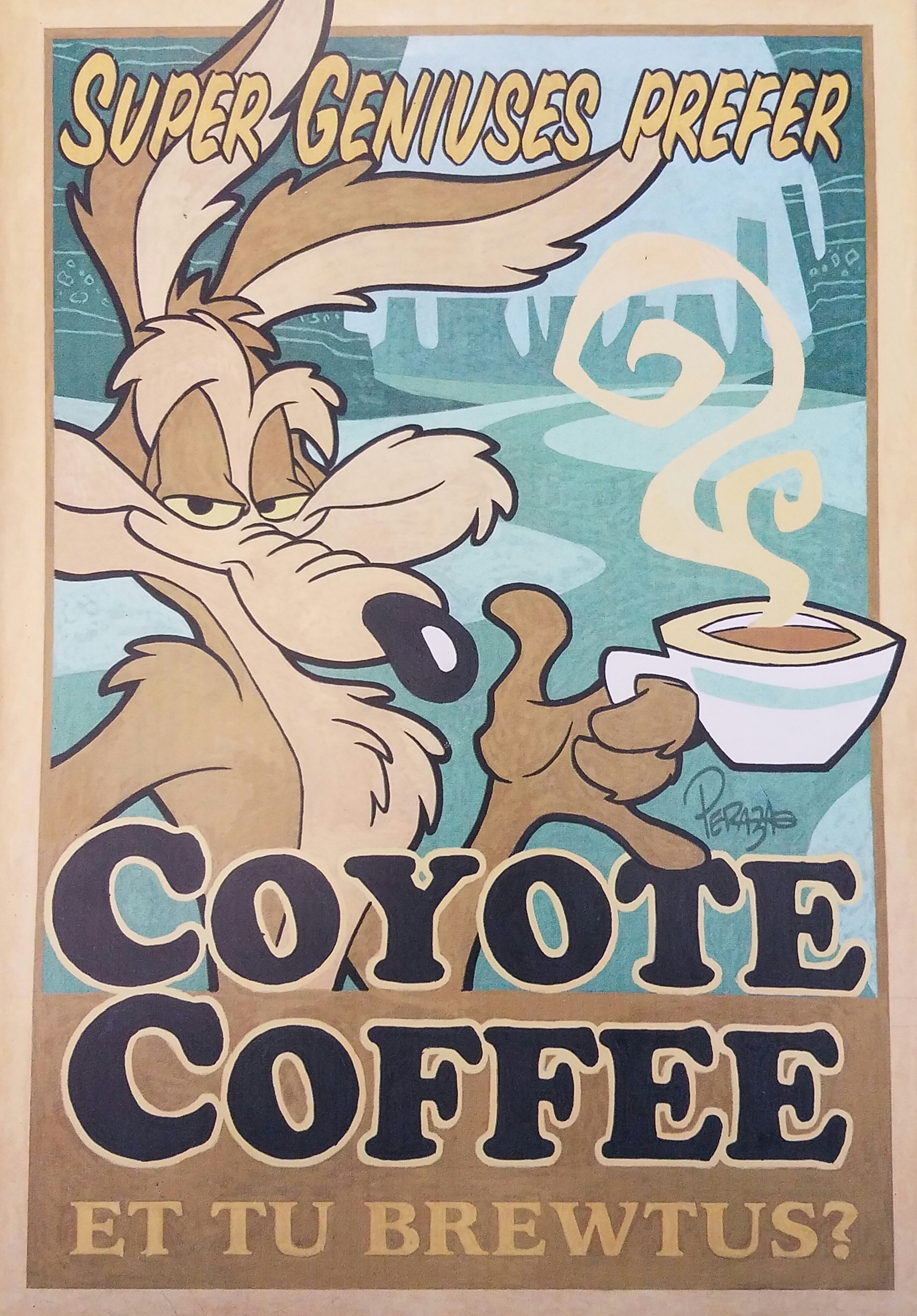Wile E Coyote Coffee Super Genius Mr Smart Tax Cpa Inc